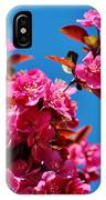 Pink Blossoms Blue Sky 031015aa IPhone Case