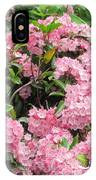 Pink Blossoms IPhone Case