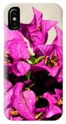 Pink Bougainvillea Classical IPhone X Case