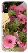 Pink Bouquet IPhone Case