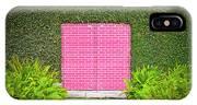 Pink Brick Door IPhone X Case