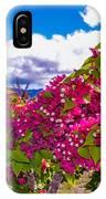 Pink Bush IPhone X Case