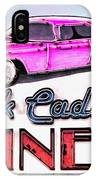 Pink Cadillac Diner IPhone Case