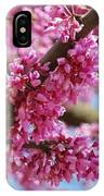 Pink Cluster Flowers IPhone Case