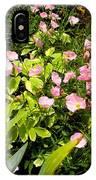 Pink Cosmos Swirl IPhone Case