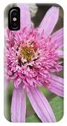 Pink Double Delight Echinacea IPhone Case