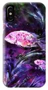 Pink Fish IPhone Case