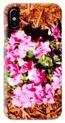 Pink Flower Garden IPhone Case