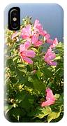 Pink Flowers By The Lake IPhone X Case