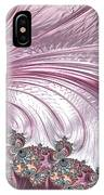 Pink Froth A Fractal Abstract IPhone Case