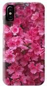 Pink Full Frame Azalea Blossoms IPhone Case