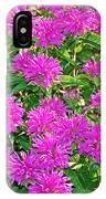 Pink Garden Flowers IPhone Case