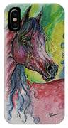 Pink Horse With Blue Mane IPhone Case