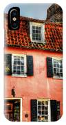 Pink House IPhone Case
