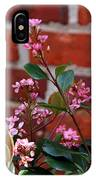 Pink Indian Hawthorne IPhone Case
