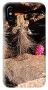 Pink Lady Cactus IPhone Case
