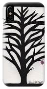 Pink Leaf Maple IPhone Case