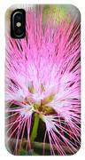 Pink Mimosa Flower IPhone Case