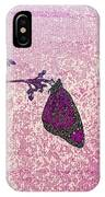 Pink Monarch IPhone Case