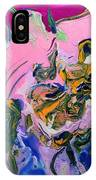 Pink Parrot IPhone Case