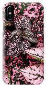 Pink - Plant - Petals IPhone Case