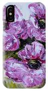 Pink Poppies IPhone Case
