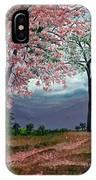 Pink Poui IPhone Case