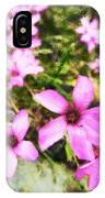 Pink Propellers  IPhone Case