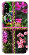 Pink Purple Flowers Captured At The Riverside Ridge At Oakville Ontario Canada Collage Beautiful     IPhone Case