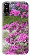 Pink Purple Mississippi Blooms IPhone Case