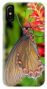 Pink Rose Butterfly IPhone Case