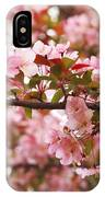 Pink Spring Apple Blossoms IPhone Case