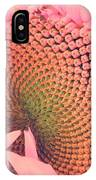 Pink Sunflower IPhone Case