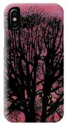 Pink Sunset Tree IPhone Case