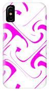 Pink Swirls IPhone Case