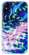 Pink Tea Leaf Erickson IPhone Case