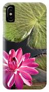 Pink Water Lily II IPhone Case