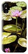 A Waterlily Reflection IPhone Case