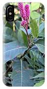 Pink Wildflower IPhone X Case