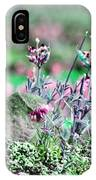 Pink Wildflowers IPhone Case