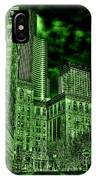 Pioneer Square In The Emerald City - Seattle Washington IPhone Case
