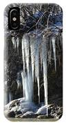 Pipecreek Icicles IPhone Case