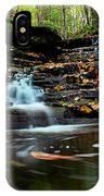Pipestem Falls IPhone Case