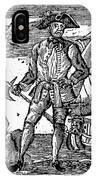 Pirate Edward England IPhone Case