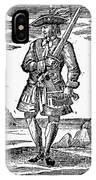 Pirate John Rackam, 1725 IPhone Case