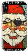 Pirate Santa Poster IPhone Case