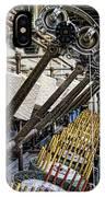 Pirn Winding Machine IPhone Case