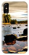Piscataquis River Dover-foxcroft Maine IPhone Case