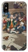 Pit Ticket, 5th November 1759 IPhone Case