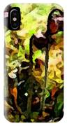 Pitcher Plant Abstraction IPhone Case